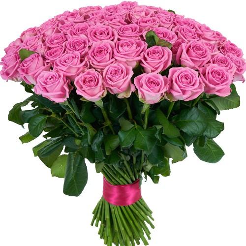 Купить на заказ Заказать Букет из 101 розовой розы с доставкой по Рудному с доставкой в Рудном